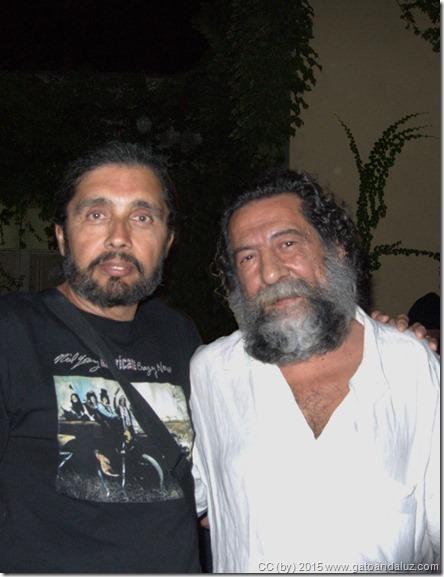Manuel Molina y yo- Sevilla - 2009-09-15 - 2